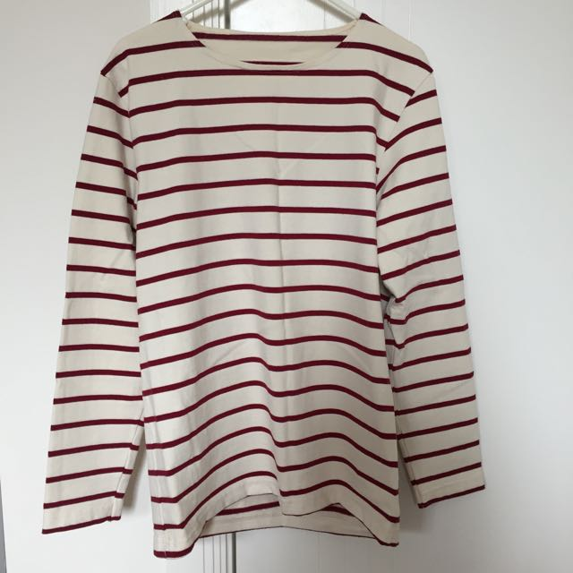 American Apparel Oversized Stripe Top