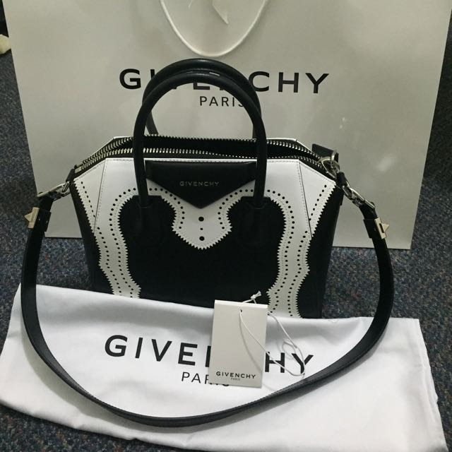Authentic Givenchy Antigona Brogue Satchel