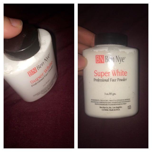BEN NYE setting Powder White