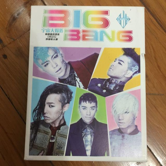 Bigbang Postcards