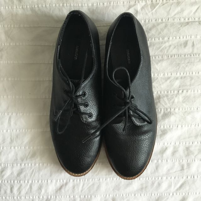 Black Women's Oxfords