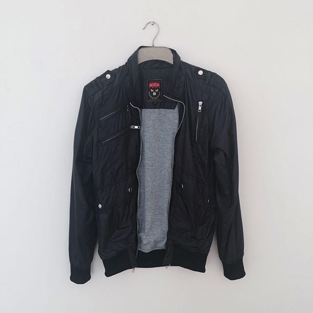 Bloop Men's Black Jacket