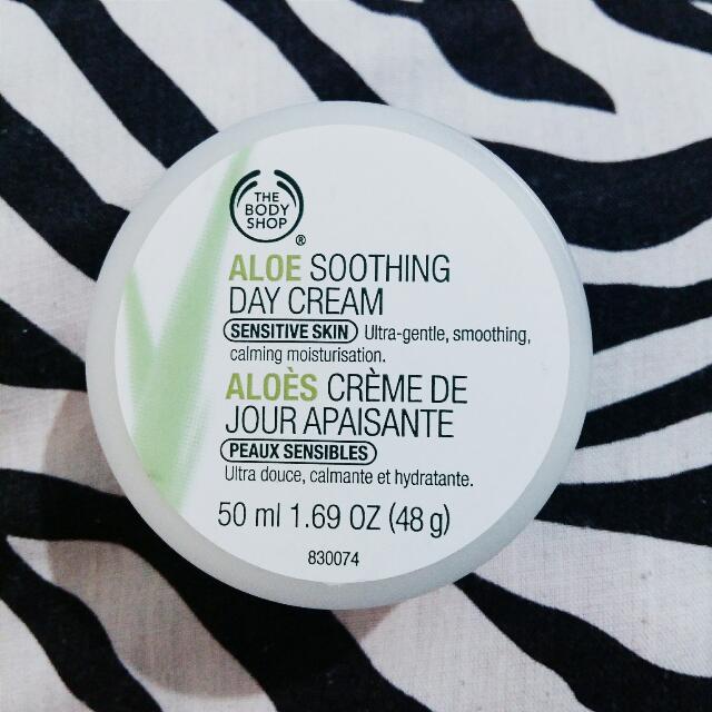 Body Shop Aloe Sooting Day Cream