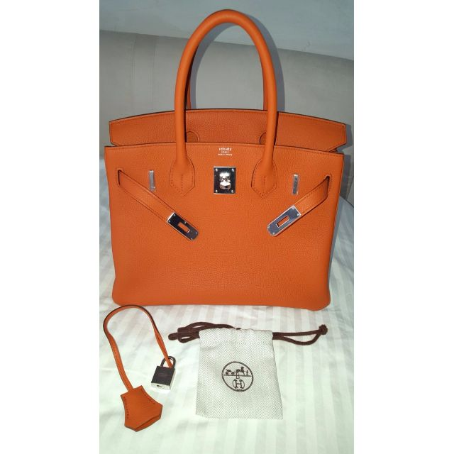 bed16e25dc 30cm WITH RECEIPT BRAND NEW AUTHENTIC Hermes Birkin 30cm TOGO ...