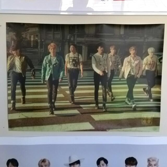 BTS HYYH ITMFL PT.2 official Group Poster