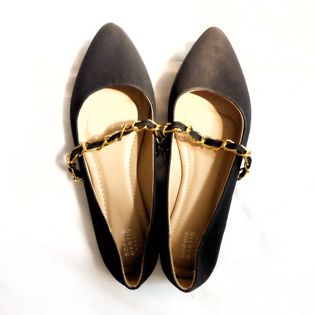 Chain Flat Shoes