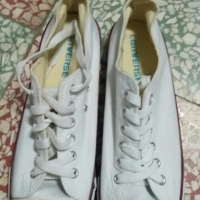 Converse 經典帆布鞋 白色 (2015購於Greece)又降