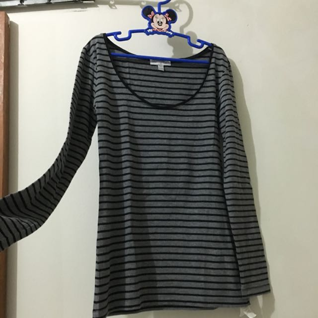 COTTON ON Long Sleeve Striped T-Shirt