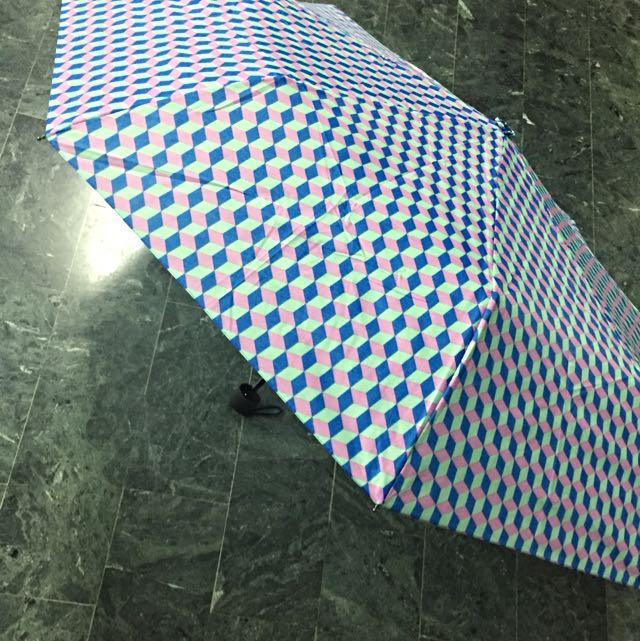 flying tiger幾何傘