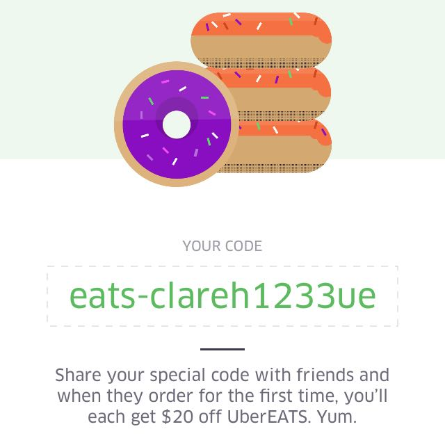 Free Food From Uber Eats!