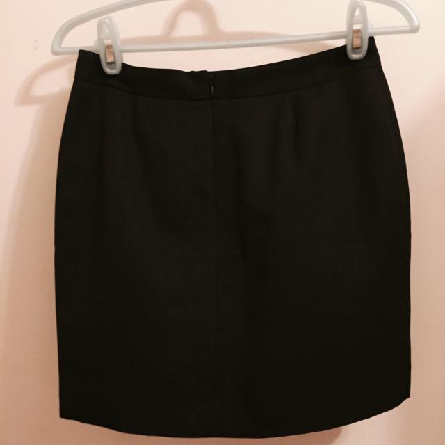 G2000黑色西裝裙
