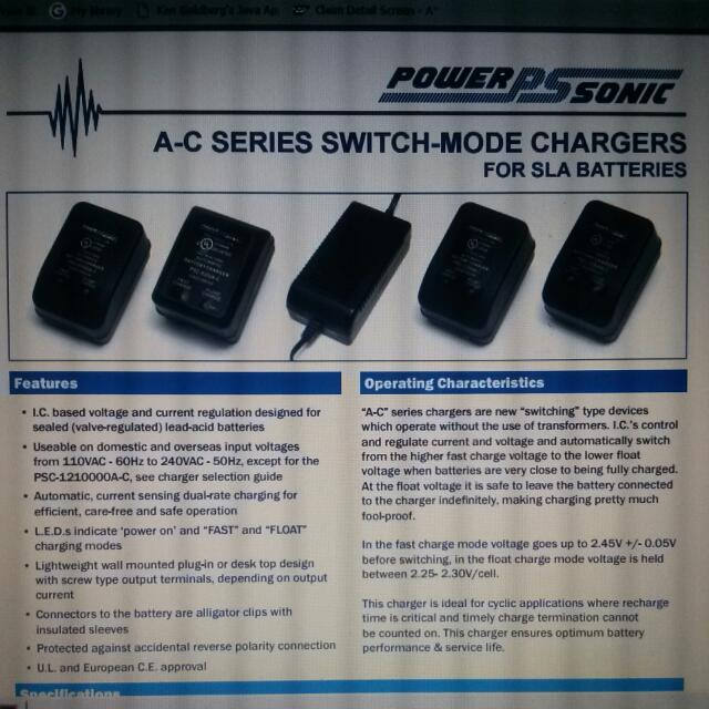 Good Quality Lead Battery Charger