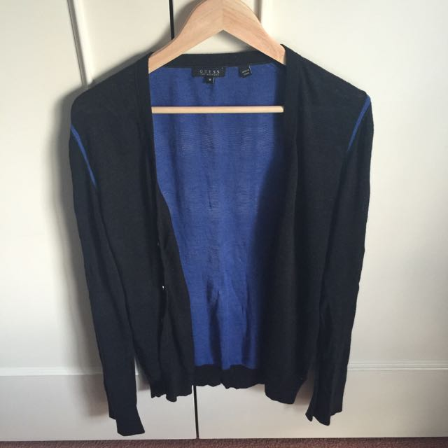 Guess Cardigan Black & Blue (M)