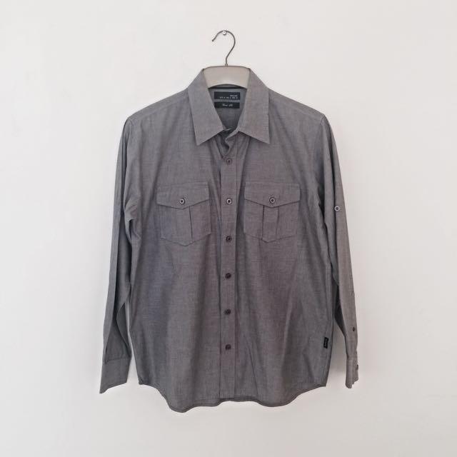 Hammer Men's Shirt Grey
