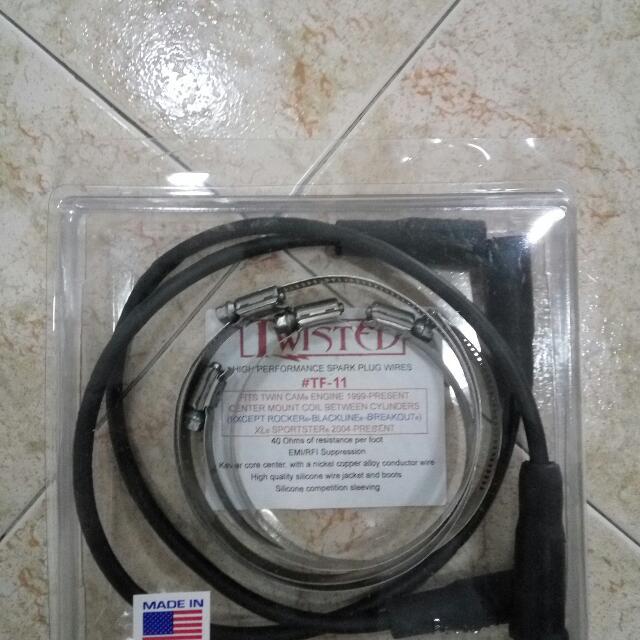 on harley plug wires