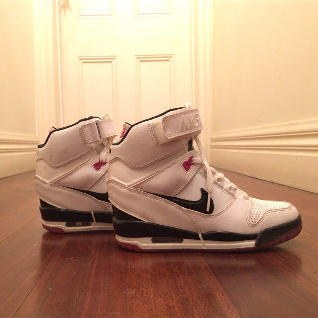 High Heeled Nike Shoes Size 7US - 38EUR