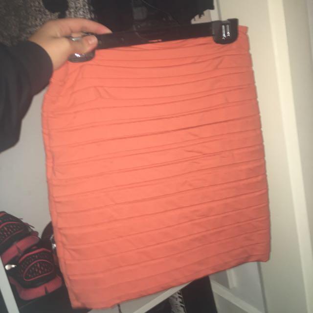 Kookai Pink Skirt