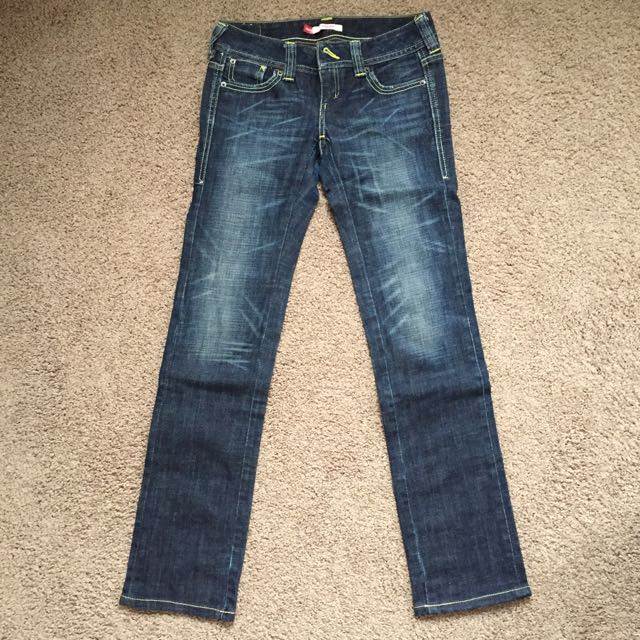 Levis Washed Jeanes