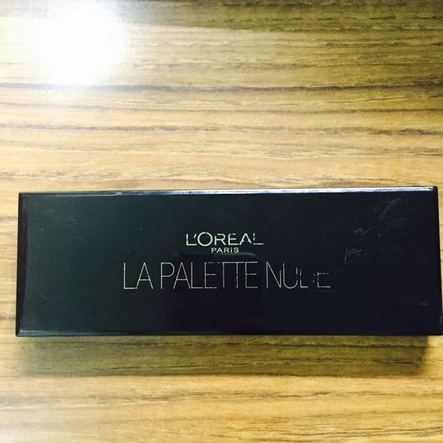 Loreal 巴黎萊雅 眼影盤 大地色系