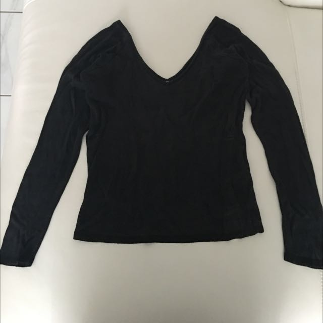 Low Midriff Black Top> Check Out My Other Items!