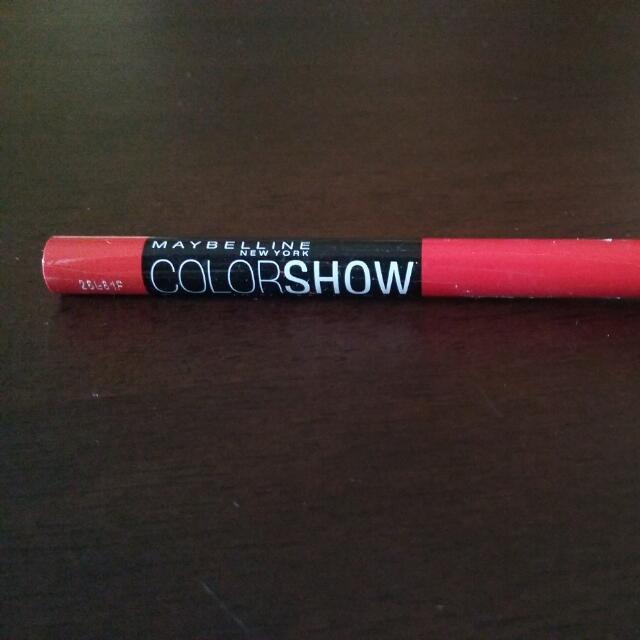 Maybelline Color Show Eyeliner 330 Coralista