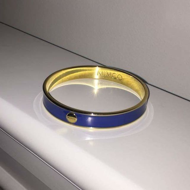 Mimco Blue/Gold Bangle
