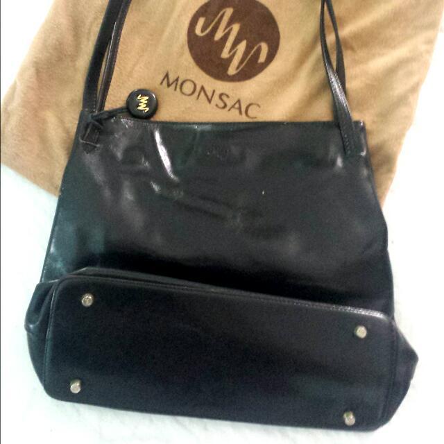 Monsac Genuine Leather Handbag