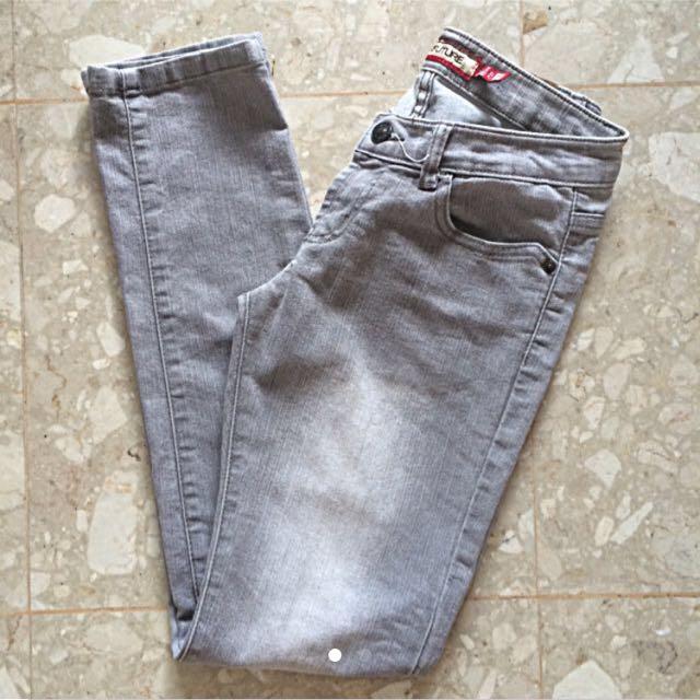 New Future Light Grey Skinny Jeans