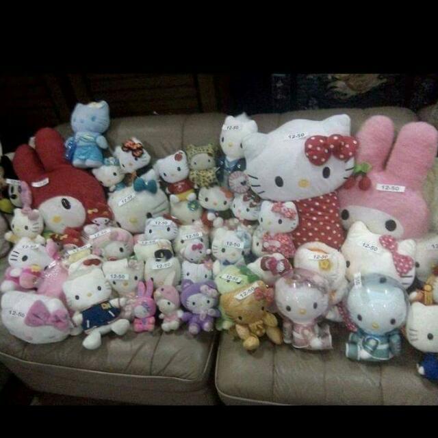 Preloved hello Kitty Stuff toys