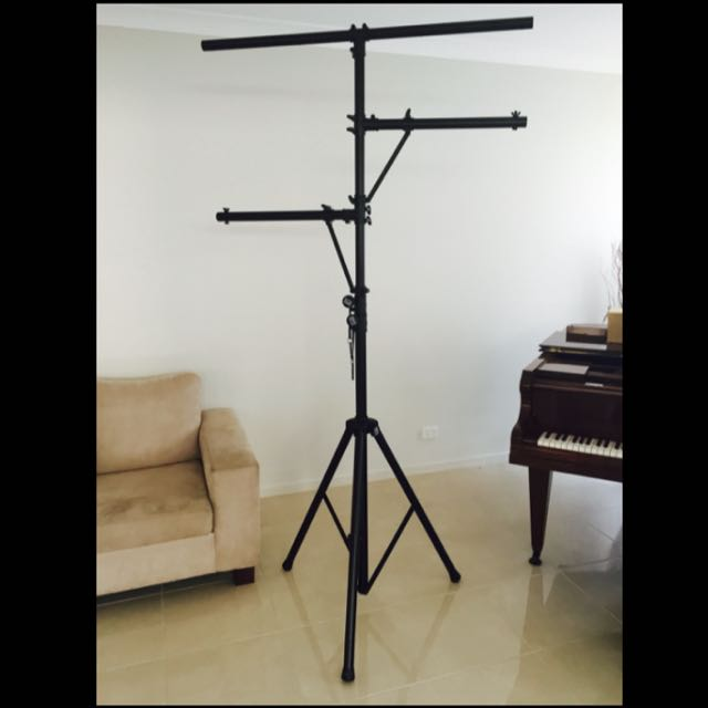 Pro. On-Stage lighting and speaker stands