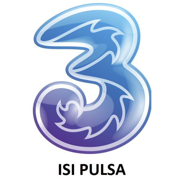 Pulsa Elektrik Tri / Three / 3