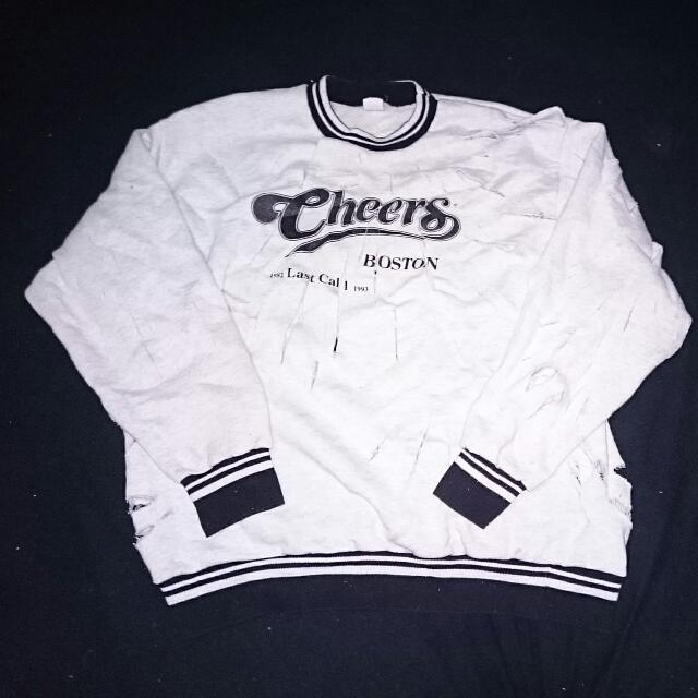 Ripped Cheers Jumper