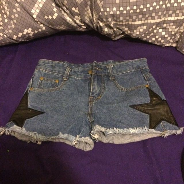 Size Small Denim Shorts.