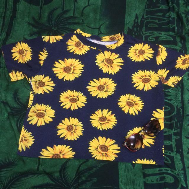 Sunflower Hanging Blouse