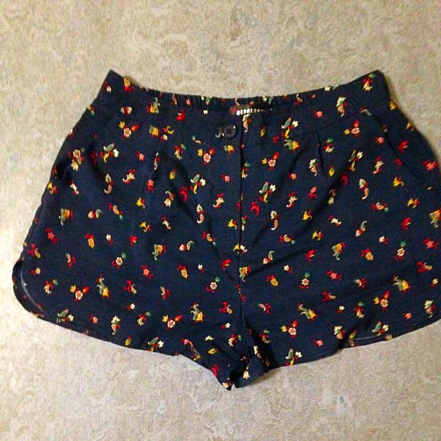 Vintage Redberry Shorts