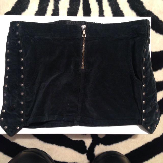 Winter Miniskirt