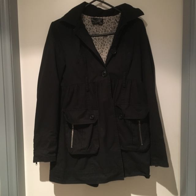 Zara TRF Cotton Coat