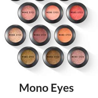 (預購)Mono eyes 單顆眼影