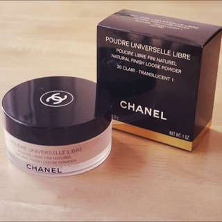 Chanel Loose Powder 20 Claire Authentic