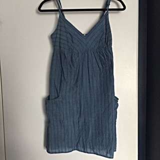 Blue GARAGE Summer Dress