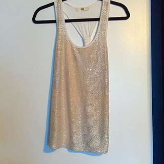 Gold RAZER-back Tank Top