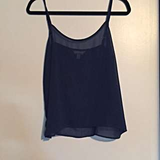 Shear Navy GARAGE Tank Top