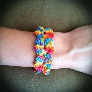 Colorful Flower Bracelet