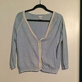 Light Blue JOE FRESH Cardigan