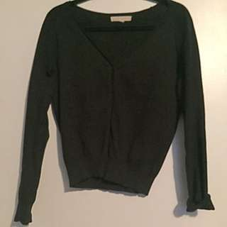 Simple Black FOREVER 21 Cardigan