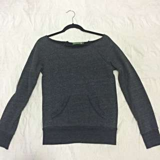 Small Off The Shoulder Sweater