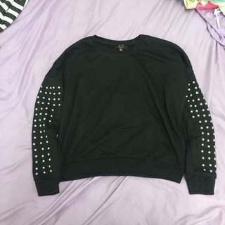 ICE Studded Jumper Size M