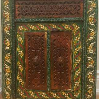 Decorative Door With Mirror Inside