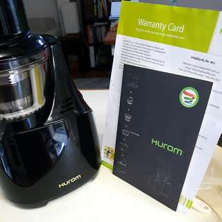 Hurom Slow Juicer Black