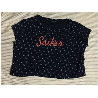 Sailor top
